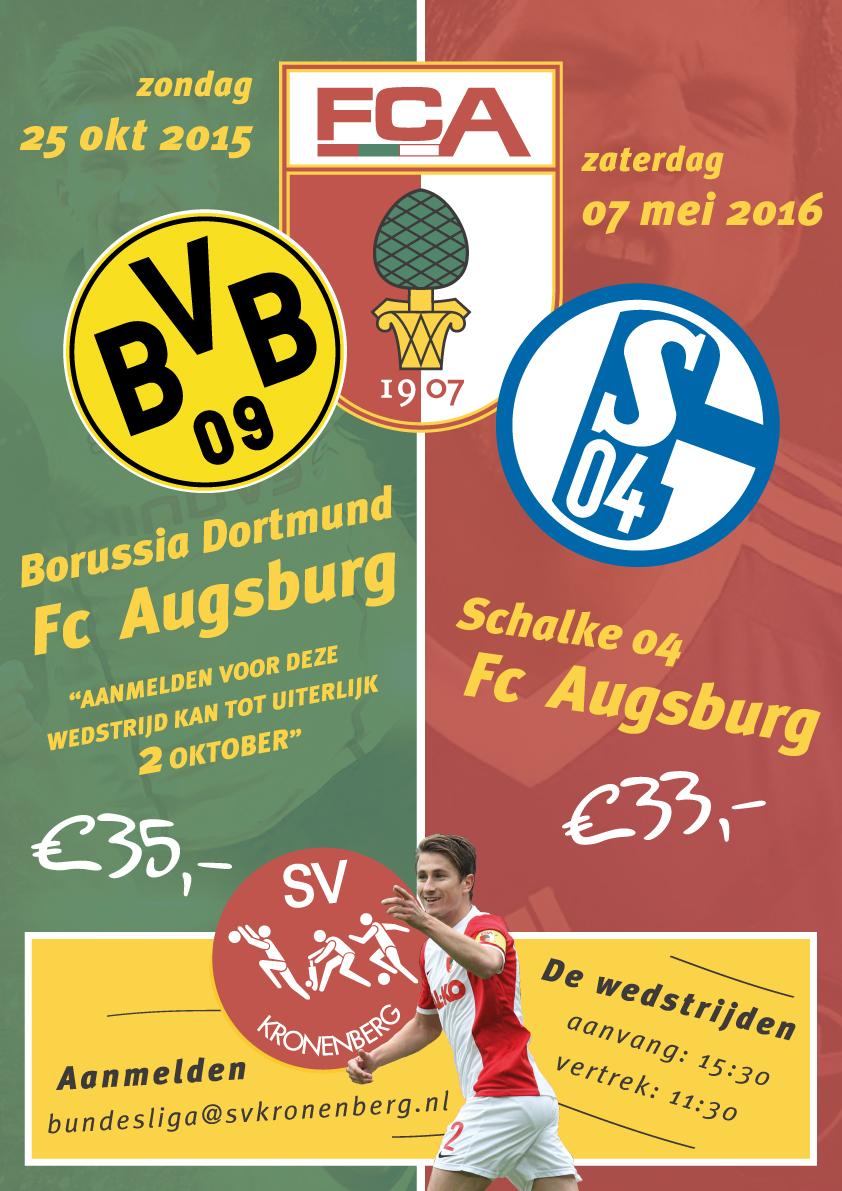 Kronenberg bezoekt weer Bundesligawedstrijden!