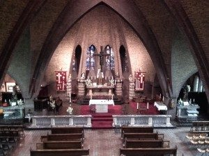 Muziek examen in kerk Kronenberg